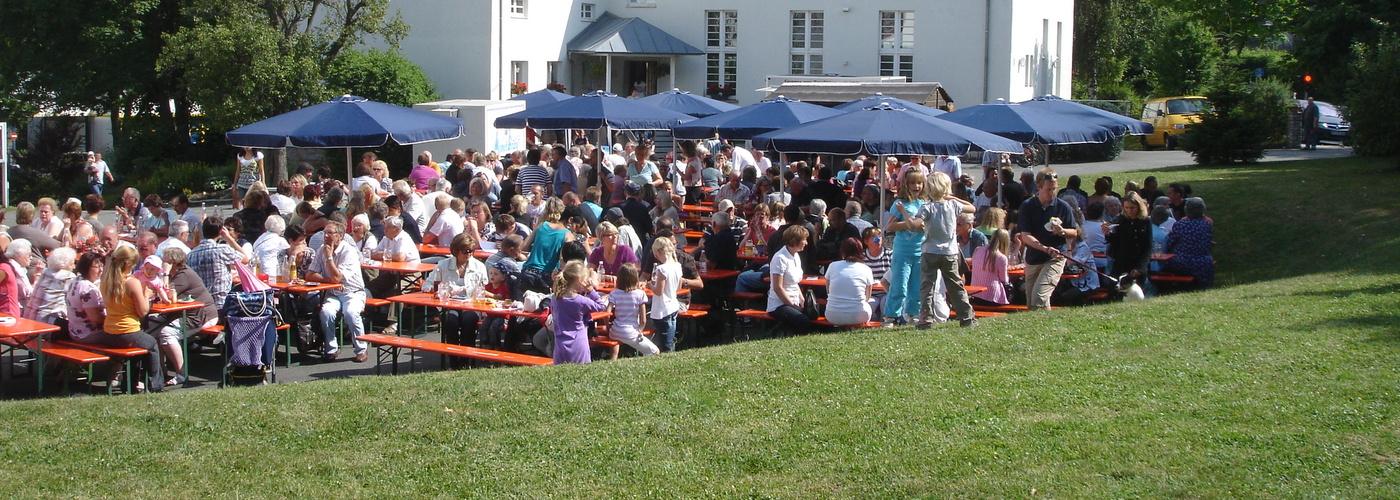 Gemeindefest im Lutherhof